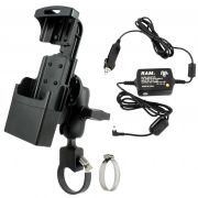 RAM Powered Dock for the Intermec CN50 and CN51 with Strap Hose Clamp Mount
