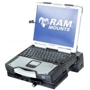 RAM Composite Tough-Dock™ Powered Docking Station with Port Replication and SINGLE RF PASS THROUGH, for Panasonic Toughbook® CF-28, CF-29, CF-30 and CF-31