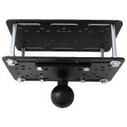 RAM Forklift Overhead Guard Plate with D Size 2.25