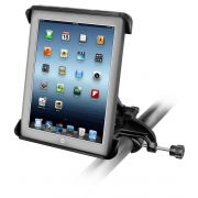 RAM Yoke Clamp Mount with Tab-Tite™ Universal Spring Loaded Cradle for the Apple iPad 1-4 WITH OR WITHOUT LIGHT DUTY CASE