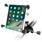 RAM Yoke Clamp Mount with Universal X-Grip® Cradle with 1