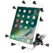 RAM Yoke Clamp Mount with Universal X-Grip® Cradle for 10