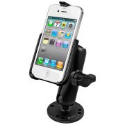 RAM Flat Surface Mount for the Apple iPhone 4 & iPhone 4S WITHOUT CASE, SKIN OR SLEEVE