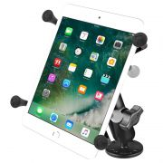RAM Flat Surface Mount with Universal X-Grip® Cradle for 7