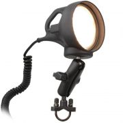 RAM LED Spotlight Mount with Handlebar U-Bolt Base