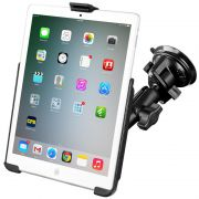 RAM Twist-Lock™ Suction Cup Mount with EZ-Roll'r™ Model Specific Cradle for the Apple iPad mini 1-3 WITHOUT CASE, SKIN OR SLEEVE