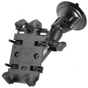 RAM Twist-Lock™ Suction Cup Mount with Quick-Grip™ Spring Loaded Phone Holder