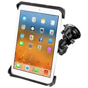 RAM Twist-Lock™ Suction Cup Mount with Tab-Tite™ Cradle for 10