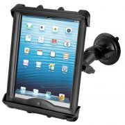 RAM Twist-Lock™ Suction Cup Mount with Tab-Tite™ Universal Spring Loaded Cradle for 10