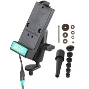 RAM Fork Stem Motorcycle Mount with Universal GDS® Phone Charging Dock for RAM IntelliSkin® Products