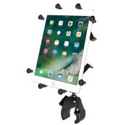RAM Small Tough-Claw™ Base with Long Socket Arm, X-Grip® Cradle for 10