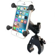 RAM Small Tough-Claw™ Base with Double Socket Arm and Universal X-Grip® Cell/iPhone Cradle