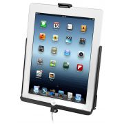 RAM EZ-Roll'r™ Model Specific Sync Cradle for the 4th Generation Apple iPad with Lightning Connector WITHOUT CASE