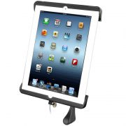 RAM TAB DOCK-N-LOCK™ Model Specific Sync & Lock Cradle for the Apple iPad 4 WITHOUT CASE