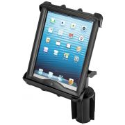 RAM-A-CAN™ II Universal Cup Holder Mount with Double Socket Arm and Tab-Tite™ Spring Loaded Cradle for 10