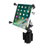 RAM-A-CAN™ II Universal Cup Holder Mount with Universal X-Grip® Cradle for 7