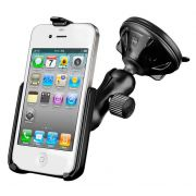 RAM Composite Twist-Lock™ Suction Cup Mount for the Apple iPhone 4 & iPhone 4S WITHOUT CASE, SKIN OR SLEEVE