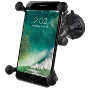 RAM Composite Twist-Lock™ Suction Cup Mount with Universal X-Grip® Large Phone Holder