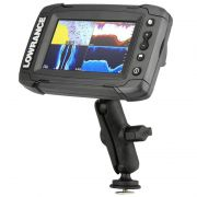 Track Ball™ Mount with Marine Electronic Plate for Lowrance Elite-4 & Mark-4 Series Fishfinders