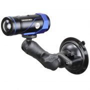 RAM Composite Twist-Lock™ Suction Cup Mount with 1/4-20 Camera Threaded Adapter
