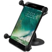 RAM Lil Buddy™ Adhesive Stick Base Mount with Universal X-Grip® Large Phone Cradle