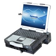 RAM Composite Tough-Dock™ Powered Docking Station with Port Replication and DUAL RF PASS THROUGH, for Panasonic Toughbook® CF-28, CF-29, CF-30 and CF-31