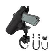 RAM Strap Clamp, Roll Bar Mount with Gun Holster Clip