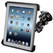 RAM Twist-Lock™ Suction Cup Mount and Tab-Tite™ Universal Spring Loaded Cradle for 10