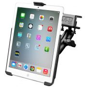RAM Glare Shield Clamp Mount with EZ-Roll'r™ Model Specific Cradle for the Apple iPad mini 1-3 WITHOUT CASE, SKIN OR SLEEVE