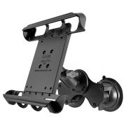 RAM Double Twist-Lock™ Suction Cup Mount with Tab-Tite™ Universal Spring Loaded Cradle for 10
