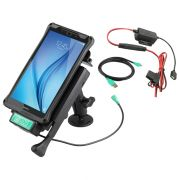 Locking Vehicle Dock with GDS Technology™ for the Samsung Galaxy Tab E 8.0 with Vehicle Dashboard Mount