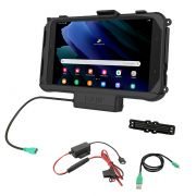 RAM® Powered Dock for Tab Active3 & Active2 with Hardwire Charger
