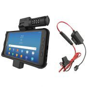 RAM® Locking Powered Dock for Samsung Galaxy Tab Active2 with Charger