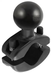 "RAM 1.25"" to 1.875"" Rail Clamp Base with 1.5"" Ball"
