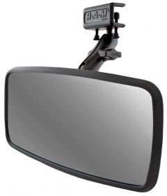 "RAM 7"" x 14"" Mirror with Glare Shield Clamp Mount"