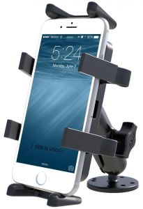 RAM Flat Surface Mount with Universal Finger-Grip™ Cradle