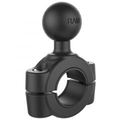 "RAM® Torque™ 3/4"" - 1"" Diameter Handlebar/Rail Base with 1"" Ball"