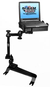 No-Drill™ Laptop Mount for the Chevrolet Avalanche, Silverado, Suburban, Tahoe, GMC Sierra, Yukon & Hummer H2