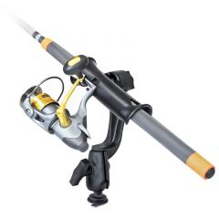 RAM Tube Jr.™ Fishing Rod Holder with RAM-ROD® Revolution Ratchet/Socket System and Track Ball™ Base