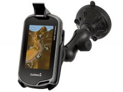 RAM Composite Twist-Lock™ Suction Cup Mount for the Garmin Approach G5, Oregon 200, 300, 400, 450, 550, 600, 650, 700, 750, 750T