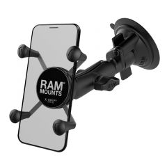 RAM Twist-Lock™ Suction Cup Mount with Universal X-Grip® Cell/iPhone Cradle