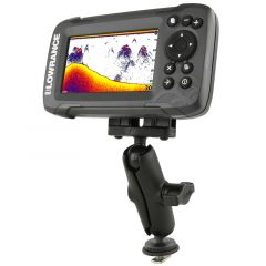 RAM® Track Ball™ Double Ball Mount for Lowrance Hook² & Reveal Series