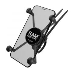 RAM EZ-ON/OFF™ Bicycle Mount with Universal X-Grip® Large Phone Cradle