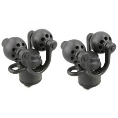RAM® Roller-Ball™ 2-Pack Paddle & Accessory Holder