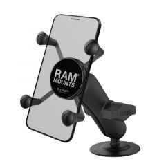 RAM Flex Adhesive Mount with Universal X-Grip® Cell Phone Cradle